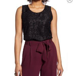 🔥🔥🔥Nordstrom Halogen shell blouse top